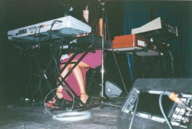 Paula Seling in sandale