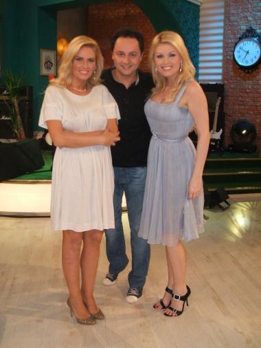 Cristina Rus in sandale