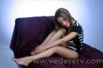 Andreea Antonescu in picioarele goale