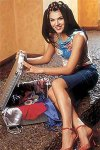 Irina Nicolae in sandale