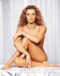 Mihaela Radulescu in picioarele goale