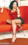 Carmen Bruma in sandale